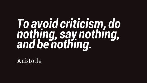 Be a Critic