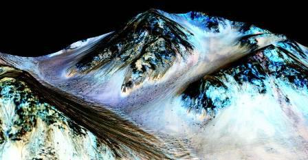 NASA Confirms Liquid Water on Mars