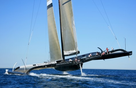 Oracle Team USA Sails Past Competition