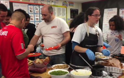 Thanksgiving Dinner Held at SHS for New Students