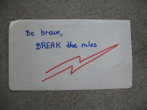 WHATEVER YOU DO, DON'T READ THIS ARTICLE ABOUT BREAKING RULES