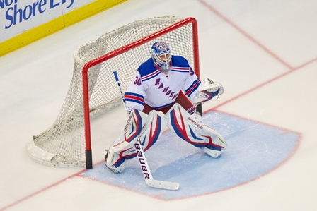 The New York Rangers vs. The Washington Capitals
