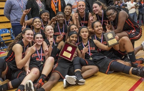 Lady Knights Crowned FCIAC Champs With 56-48 Win Over Fairfield Warde