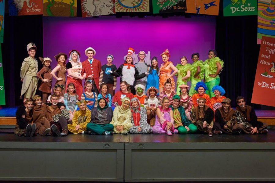 The cast of Seussical. Photo by Scott Drynan