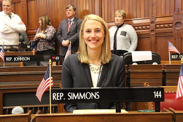 Connecticut State Representative Caroline Simmons