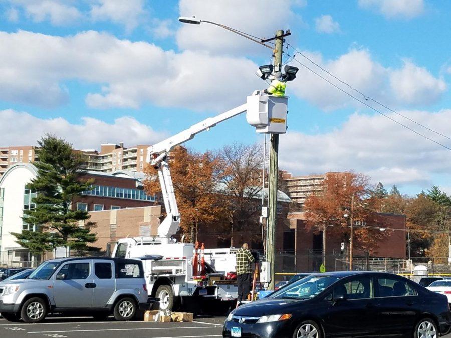New Cameras to Combat Parking Lot Vandalism