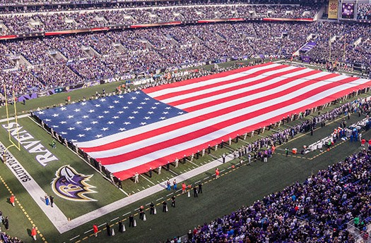 The singing of the national anthem before sporting events has become a national tradition, but we only ever hear the first verse.