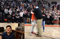 School Holds Pep Rally for Winter Athletes, Welcomes Back Erwin Hernandez