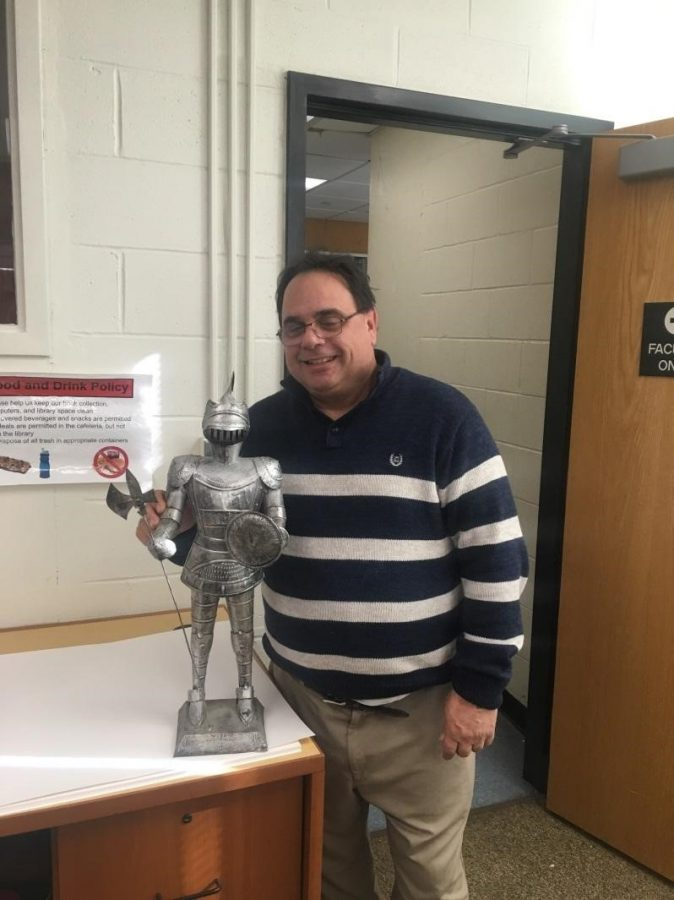 Although David Delgeudice teaches science at Stamford High, his favorite class in high school was calculus.