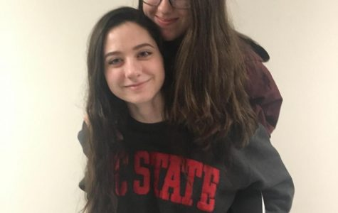 Pictured here are twin sisters Ivy and Kathryn Zingone, both of whom are juniors at Stamford High School.