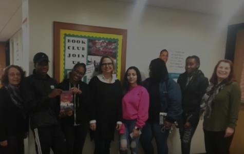 Local Author Visits Book Club