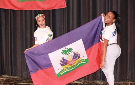 Photo Gallery: Haitian Students Celebrate Flag Day