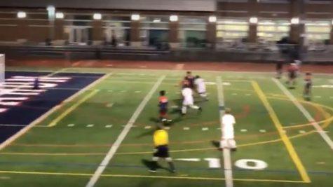 Crazy SHS Soccer Goal!!