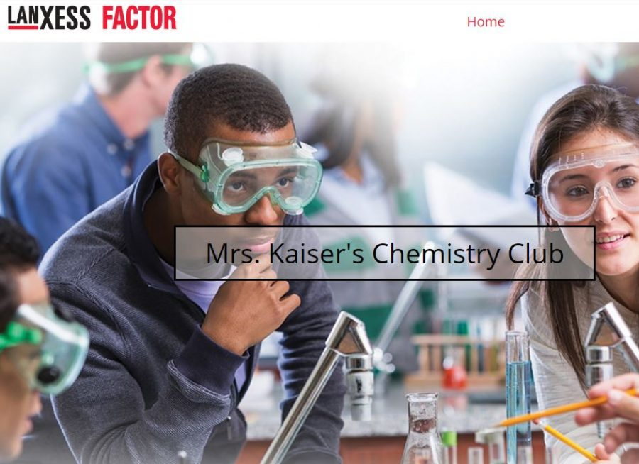 Chemistry Club Finalists for LANXESS Grant