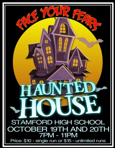 Come to Stamford High's Haunted House!
