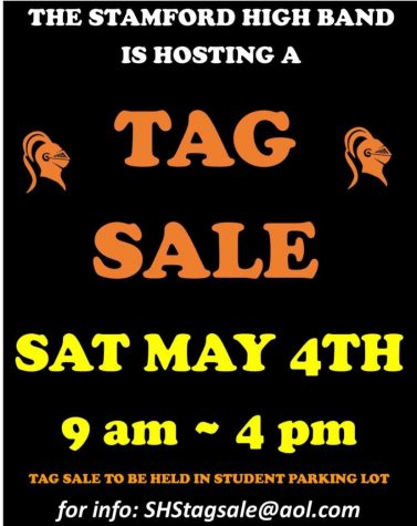 Tag Sale at SHS 5/4