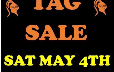 Tag Sale at SHS 5/4