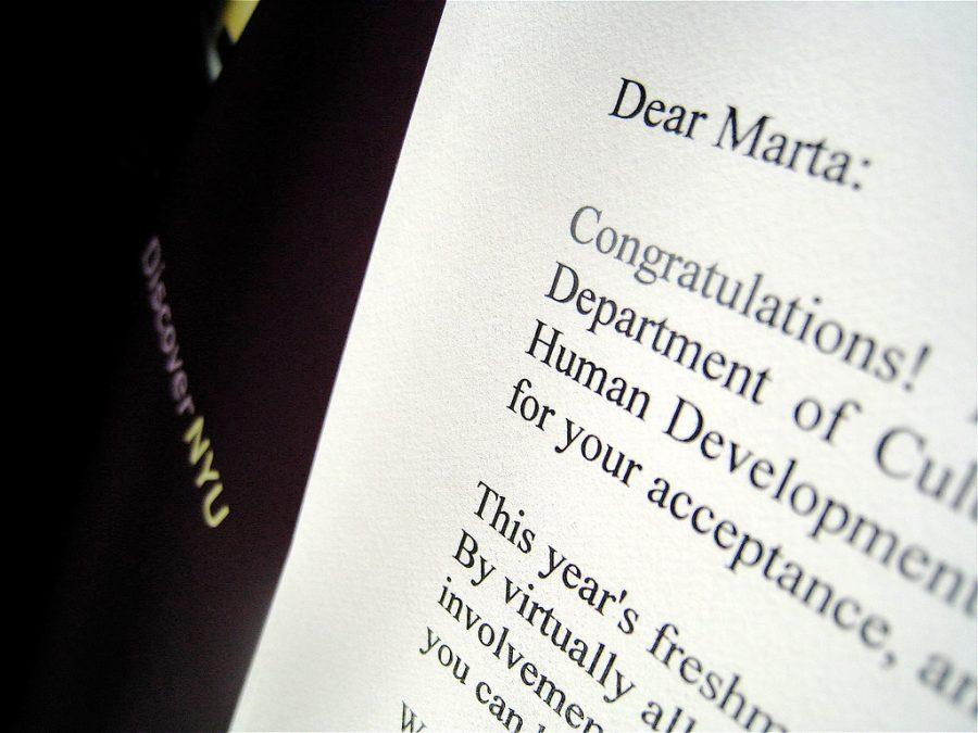 College+Acceptance+Letter