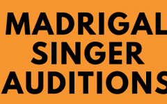 MADRIGAL SINGER AUDITIONS