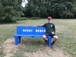 SHS Senior creates Buddy Benches for Elementary School