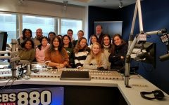 Stamford High School Round Table Takes Trip to CBS Radio Studios in NYC