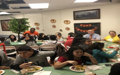 Stamford High School's First Thanksgiving
