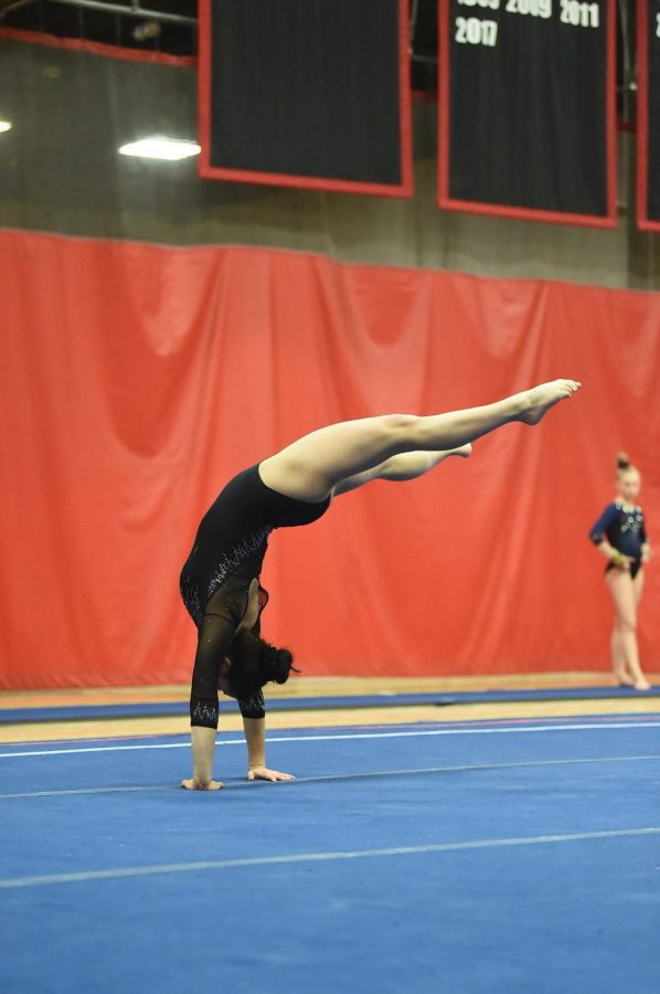 Silverstein has been working toward her dream of becoming an Olympic-level gymnast since she was a young child.
