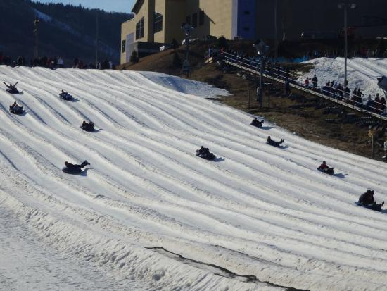 Camelback Mountain Resort is one of several options for those students looking to get one last taste of winter fun.