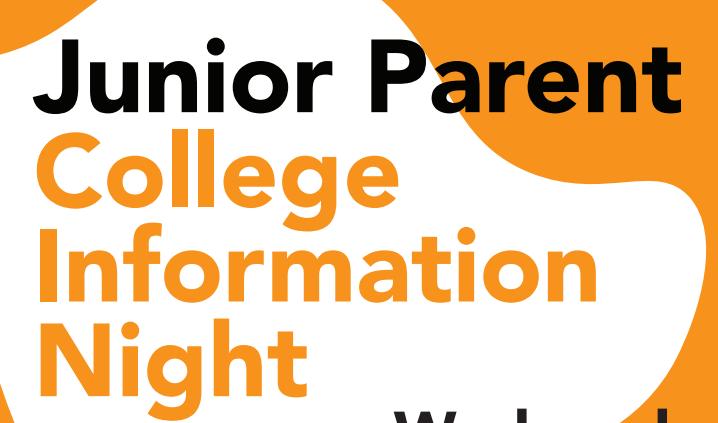 Junior Parent College Information Night