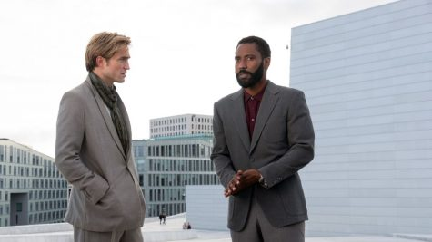 Robert Pattinson and John David Washington