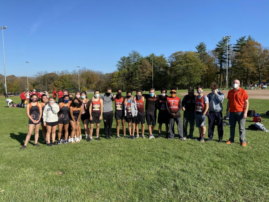 The+eight+top+runners+of+the+girls+and+boys+cross+country+team+competed+at+the+2020+FCIAC+Regional+Championships.