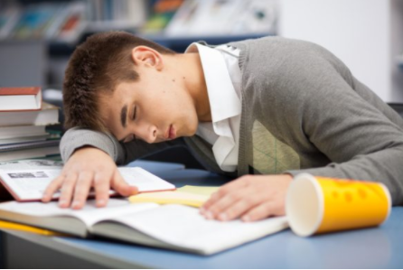 High school students often find themselves falling asleep in class due to the sleep deprivation caused by early school starting times.