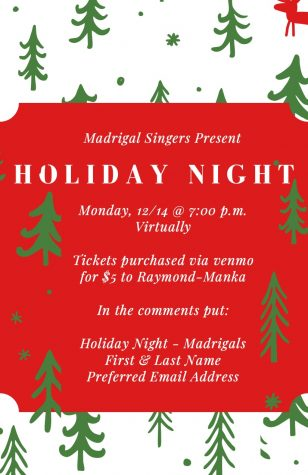 Madrigal Singers Present Holiday Night