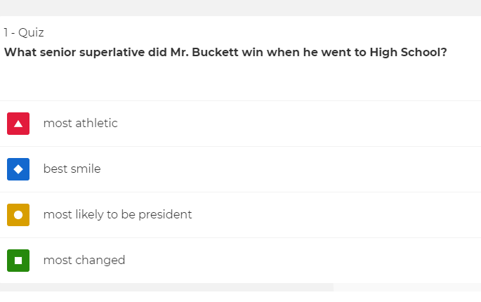 What Superlatives Did SHS Teachers Win in High School?