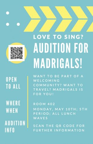 Madrigal Auditions 5/10
