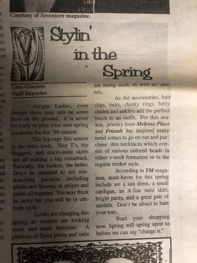Article from The Siren
