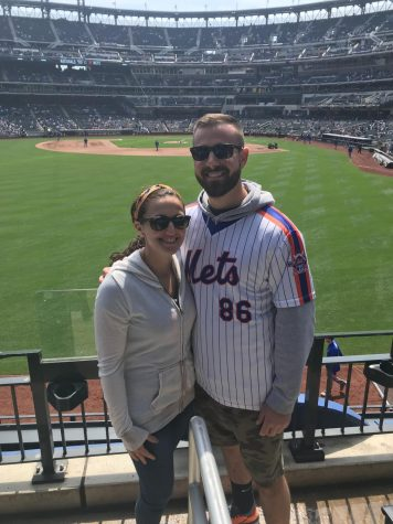Steven Buckett and Melissa Giordano are married, and work together in the physical education department at SHS.