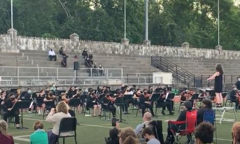 Spring Concert Held in Boyle Stadium