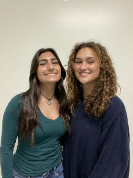 Juniors Lucy Scorziello and Shayla Pensiero manage sports teams here at SHS.