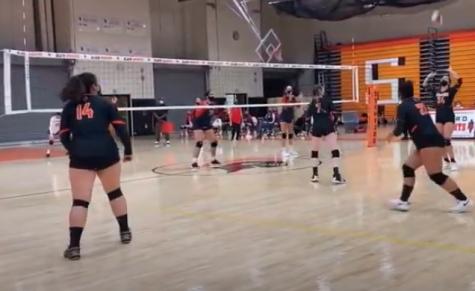 Girls Volleyball defeats Foran 3-0