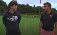 Navigation to Story: Golf Team Discusses Goals