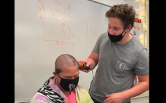 Navigation to Story: Pennies and Shaved Heads Raise Funds